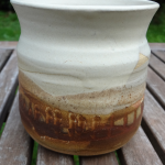 Mug in browns
