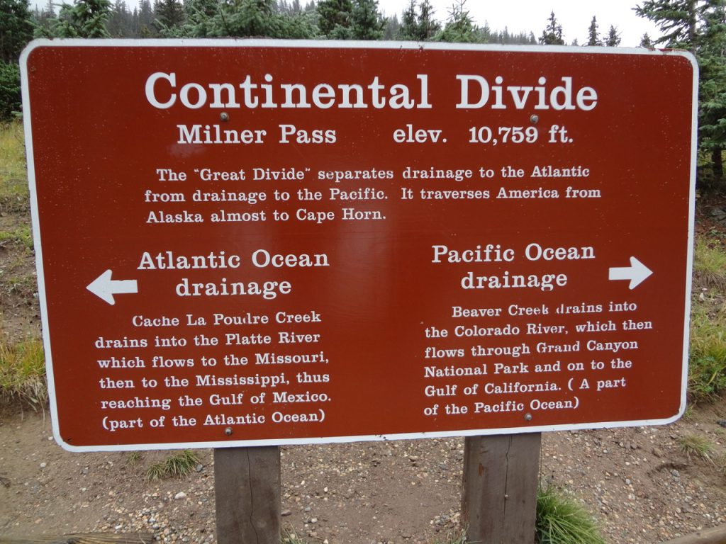 Continental Divide explained