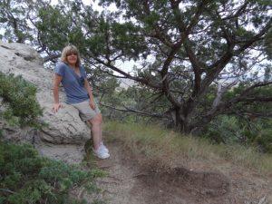 Jenn on the Door Trail