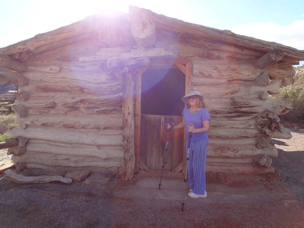 Wolfe Ranch cabin