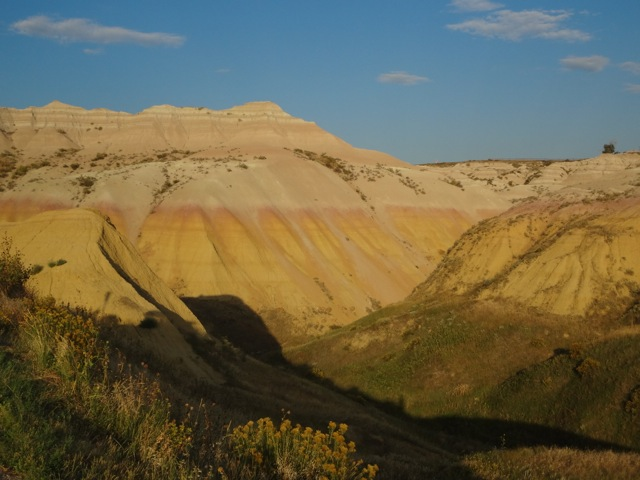Yellow Mounds sunset