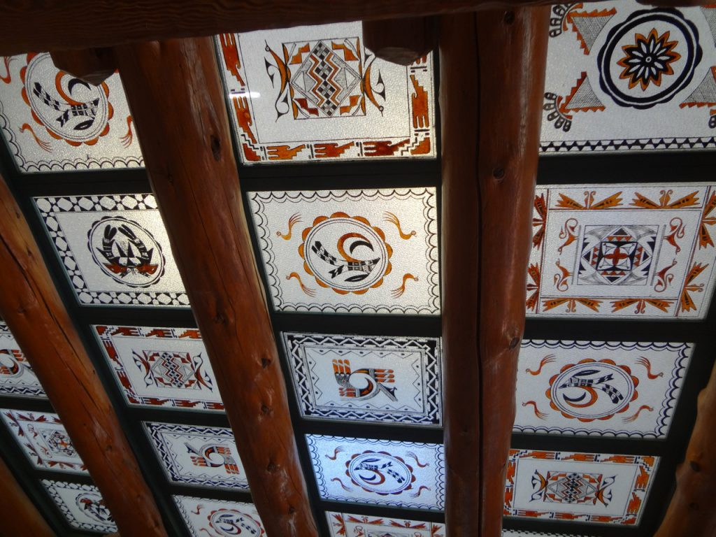 Skylight built at the Painted Desert Inn by the Civilian Conversation Corps